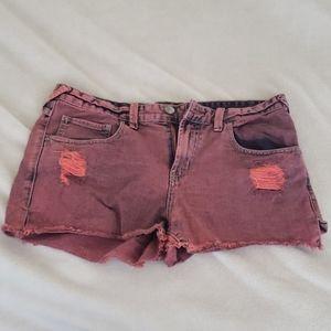 Free people red shorts sz 30 EUC